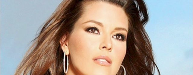 Alicia Machado plastische Chirurgie und Gewichtszunahme
