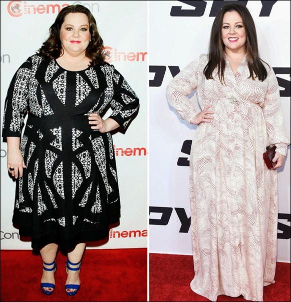Melissa McCarthy Gewichtsverlust vor und nach Bildern