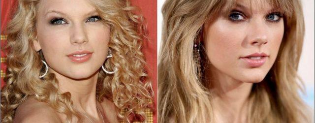 Taylor Swift Nase Job vor und nach Bildern