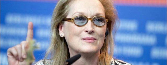 Meryl Streep ist gegen plastische Chirurgie?