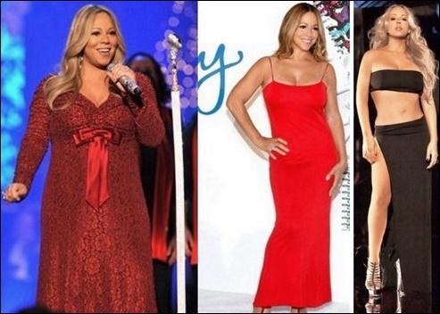 Mariah Carey Gewichtsverlust vor und nach dem Diät-Trainingsplan