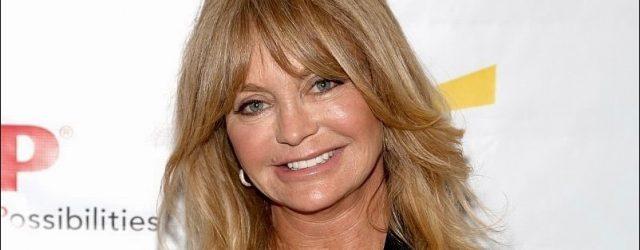 Goldie Hawn Plastische Chirurgie Facelifting zum Entfernen von Falten