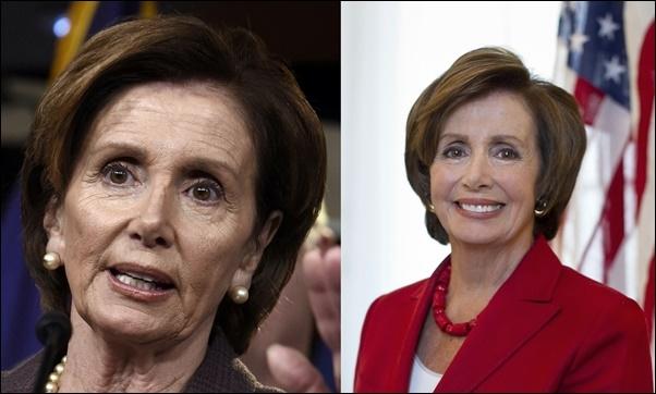 Nancy Pelosi Plastische Chirurgie Vorher und Nachher