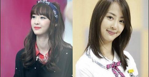 Koreanische Prominente vor und nach der plastischen Chirurgie Fotos