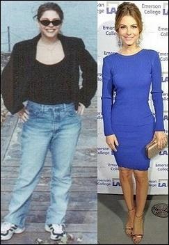 Maria Menounos Gewichtsverlust vor und nach dem Trainingsplan
