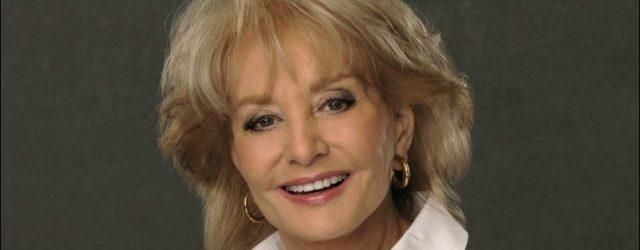 Barbara Walters hat keine Falten in den Achtzigern
