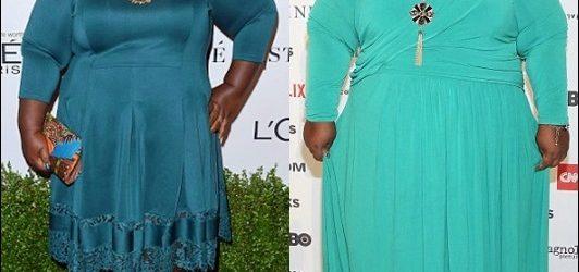 Gabourey Sidibe Gewichtsverlust Chirurgie vor und nach Fotos