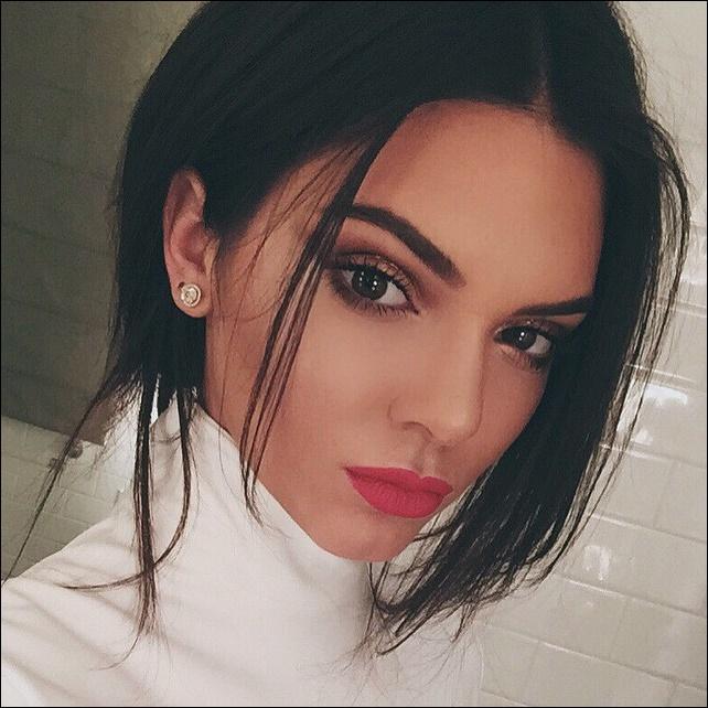 Kendall Jenner Nase Job Plastische Chirurgie vor und nach Fotos