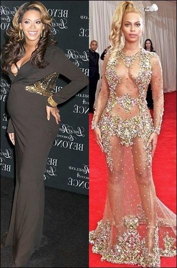 Beyonce Gewichtsverlust Diät und Übung vor einer nach Fotos