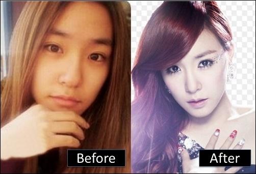 Tiffany Hwang Plastische Chirurgie vor und nach der Nase Job, Augenlid Fotos