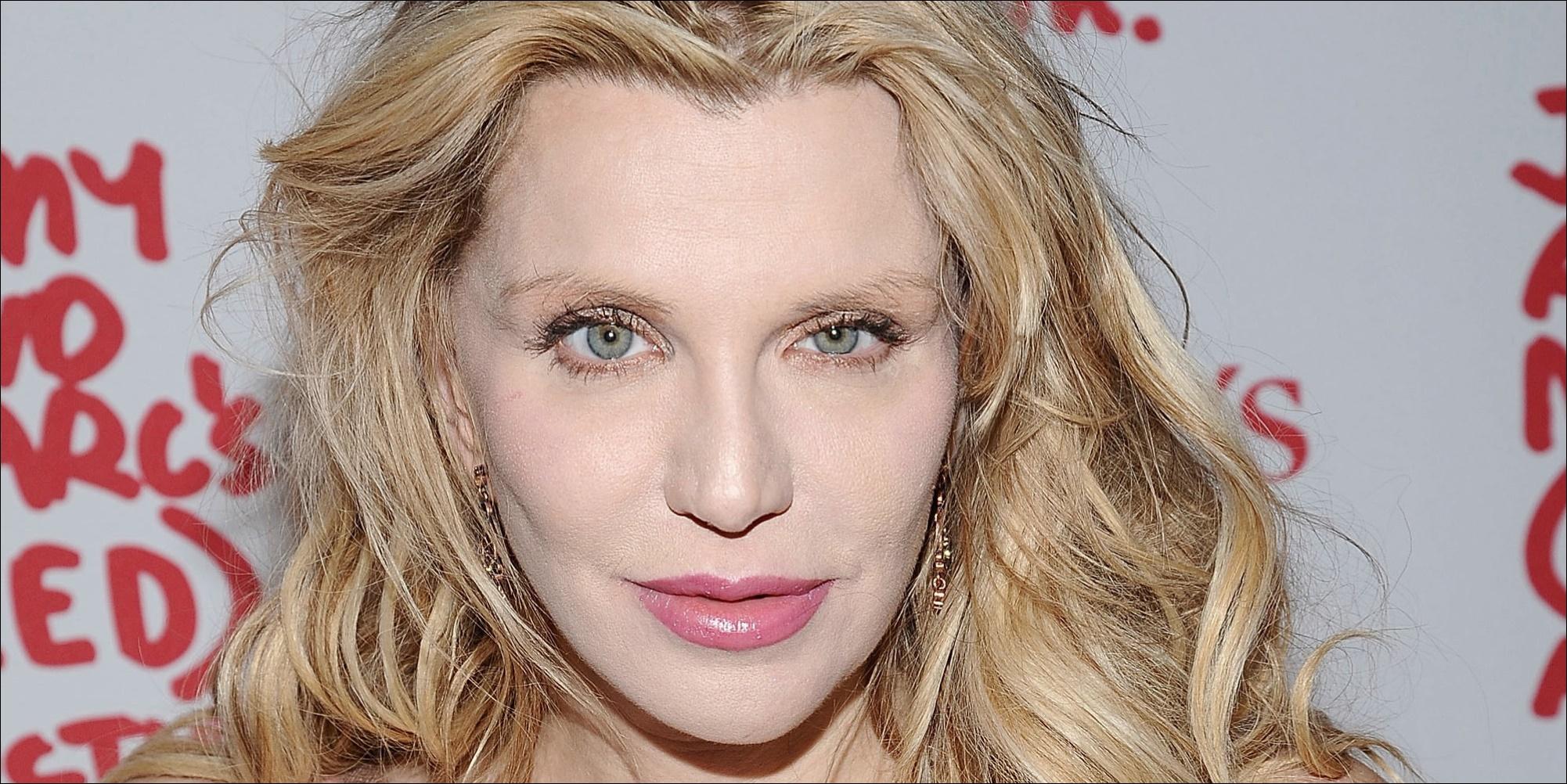 Courtney Love Nase Job Plastische Chirurgie vor und nach Fotos