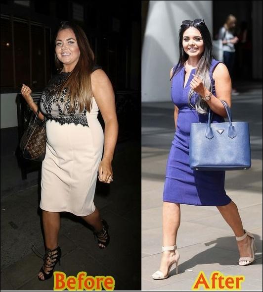 Scarlett Moffatt Gewichtsverlust Diät-Plan vor und nach dem Training