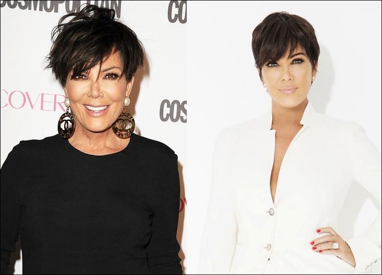 Kris Kardashian Plastische Chirurgie vor und nach Titten Job, Botox Fotos