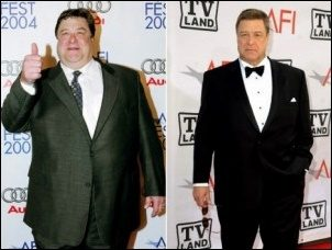 John Goodman Weight Loss Diät und Übung vor After Fotos