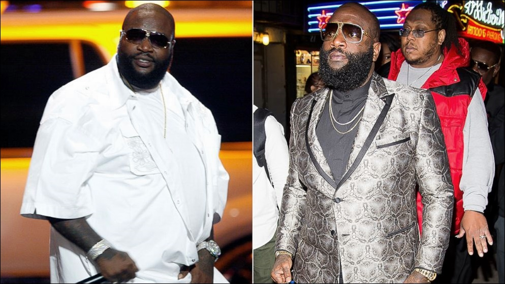 Rick Ross Weight Loss Bilder vor und nach