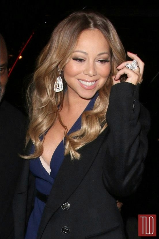 Mariah Carey Nase Job Plastische Chirurgie vor und nach dem Bild