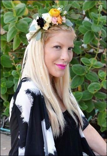 Tori Spelling Nase Job Plastische Chirurgie vor und nach Fotos
