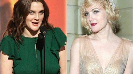 Drew Barrymore Brustverkleinerung vor und nach Fotos