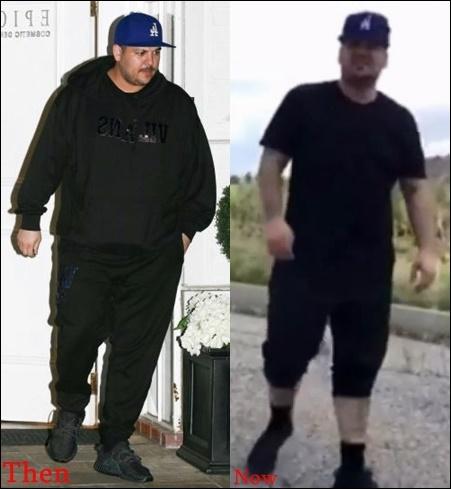 Rob Kardashian Gewichtsverlust vor und nach den Bildern