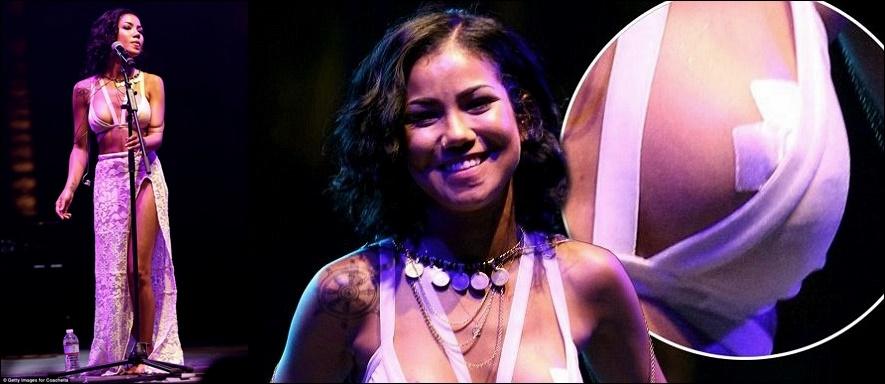 Jhene Aiko Brustimplantate vor und nach Fotos